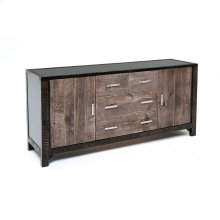 Urban Graphite 2 Door 4 Drawer Server