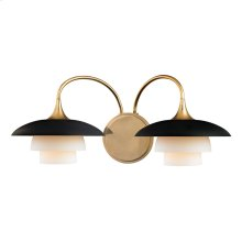 Wall Sconce - Aged Brass