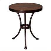 "20"" Rd. Side Table"