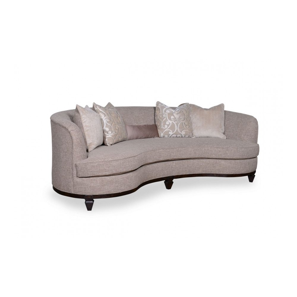 Blair Fawn Kidney Sofa