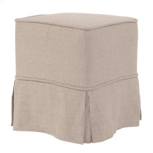 Universal Cube Linen Slub Natural - Skirted