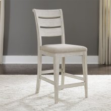Ladder Back Uph Counter Chair (RTA)