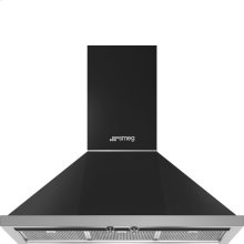 "36"" Portofino, Chimney Hood, Matte Black"