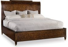 Skyline King Sleigh Bed with Low Footboard