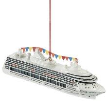 Cruise Ship Ornament.