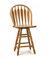 Dining - Classic Oak Wide Arrow Counter Stool Product Image