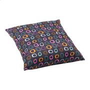 Kitten Large Outdoor Pillow Chocolate Base And Multicolor Pattern Product Image