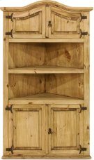 Corner Cabinet w/ 4 Doors & 1 Shelf Product Image