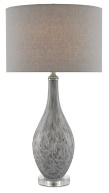 Lupo Gray Table Lamp
