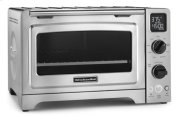 "12"" Convection Digital Countertop Oven - Stainless Steel Product Image"