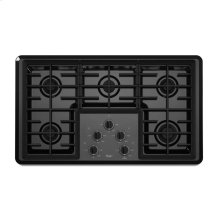 36-inch Gas Cooktop with 12,500 BTU Power Burner