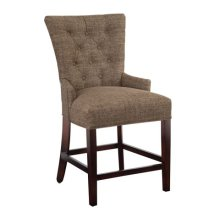 Sonya Counter Stool with Nailheads