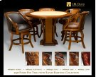 9596 Poker Pub Table Product Image