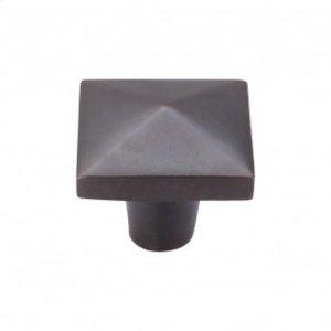 Aspen Square Knob 1 1/2 Inch - Medium Bronze