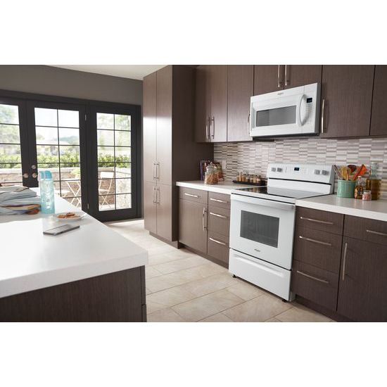 Whirlpool® 1.9 Cu. Ft. Capacity Steam Microwave With Sensor Cooking   White