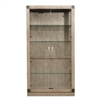 Academy Lighted Glass Curio China Cabinet Product Image