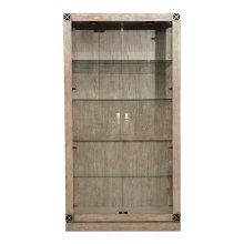 Academy Lighted Glass Curio China Cabinet