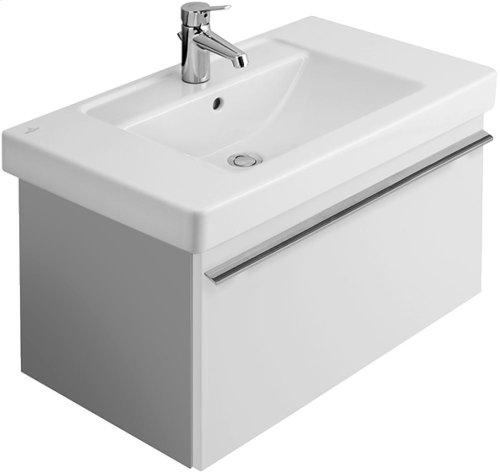 """Vanity washbasin 31"""" Angular - White Alpin"""