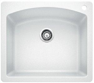 Blancodiamond Single Bowl - White