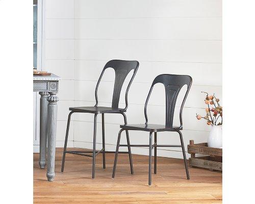 Chimney Gaven Metal Stamped Chair