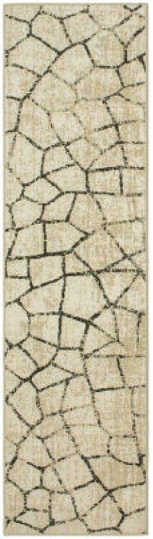 Kismet Fragment Ivory Runner 2ft 1in X 7ft 10in