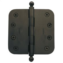 "Oil-Rubbed Bronze 5/8"" Radius Corner Hinge"