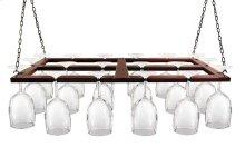 Epicureanist Hanging Wine Glass Rack