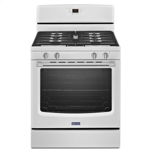 30-inch Wide Gas Range with Precision Cooking System - 5.8 cu. ft. - WHITE