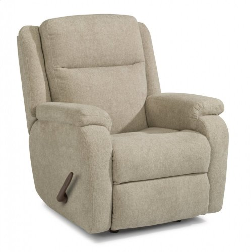 Magnus Fabric Swivel Gliding Recliner