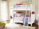 All American Bunk Bed (Twin) - White Product Image