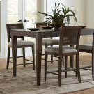Joelle - Woven Gathering Height Chair - Carbon Gray Finish Product Image