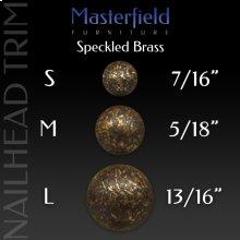 Speckled Brass Nail Head Trim