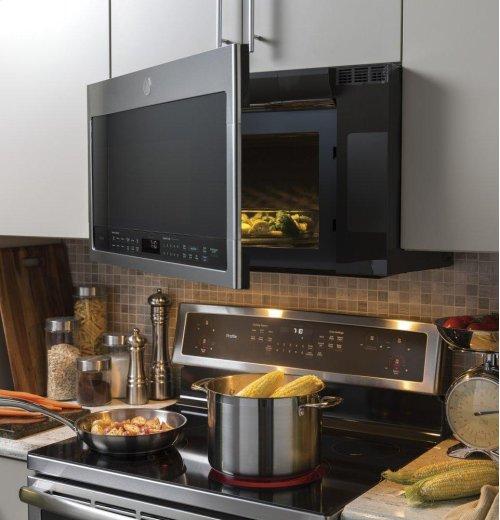 GE Profile™ Series 2.1 Cu. Ft. Over-the-Range Sensor Microwave Oven