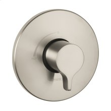 Brushed Nickel Pressure Balance Trim S/E