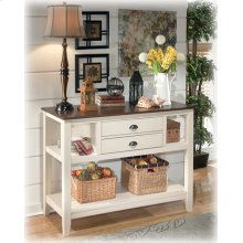 Dining Room Server Whitesburg - Brown/Cottage White Collection Ashley at Aztec Distribution Center Houston Texas