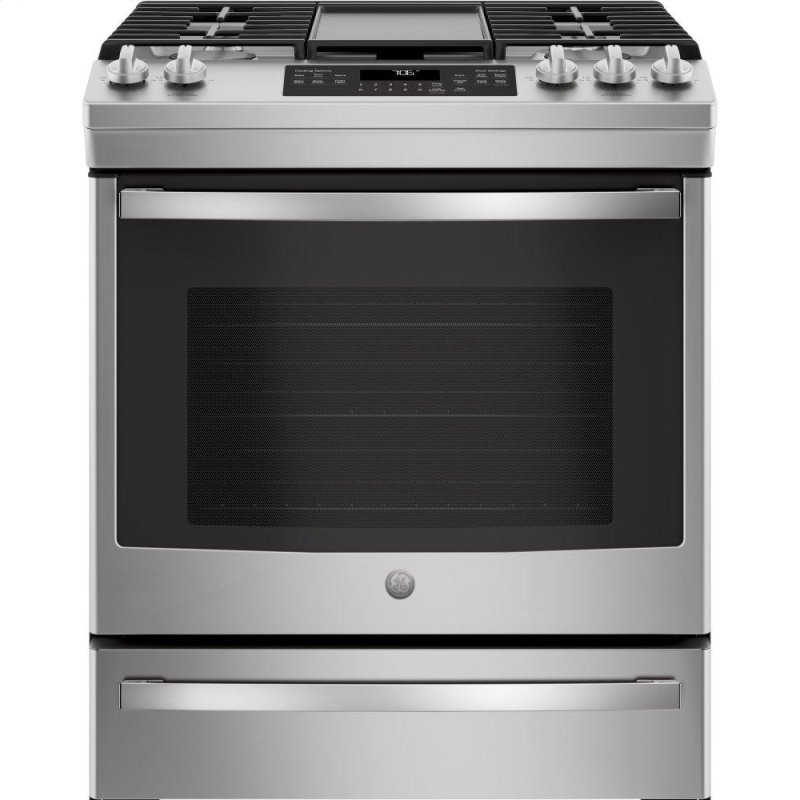 """®30"""" Slide-In Front-Control Convection Gas Range"""