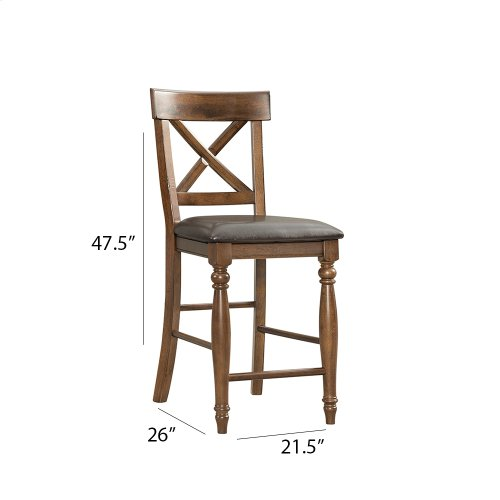Dining - Kingston X-Back Counter Stool