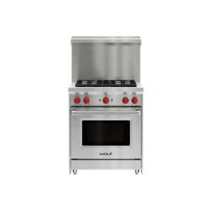 "Wolf30"" x 20"" Gas Range Riser With Shelf"