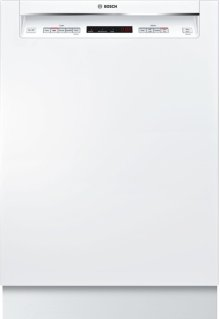 "300 Series 24"" Recessed Handle Dishwasher SHEM63W52N"