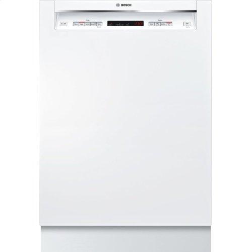 300 Series built-under dishwasher 24'' White SHEM63W52N
