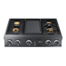 "Modernist 36"" Rangetop, Graphite, High Altitude Liquid Propane Product Image"
