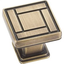 """1-1/8"""" Overall Length Arts & Crafts Cabinet Knob."""