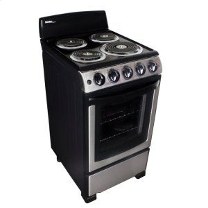 "DanbyDanby 20"" Free Standing Coil Stainless Steel Range"