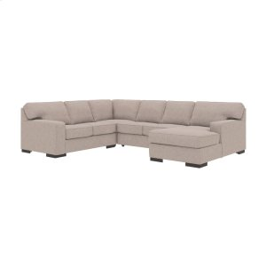 AshleyASHLEYAshlor Nuvella(r) 4-piece Sectional With Chaise