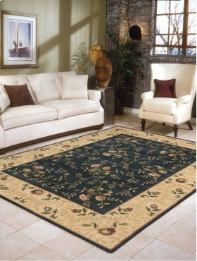 SOMERSET ST05 NAV RECTANGLE RUG 7'9'' x 10'10''