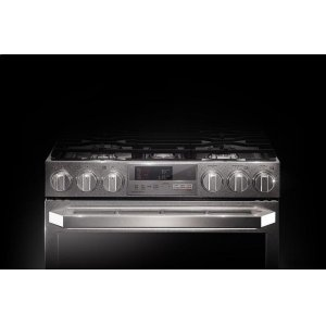 LG AppliancesLG SIGNATURE 7.3 cu.ft. Smart wi-fi Enabled Dual Fuel Double Oven Range with ProBake Convection®