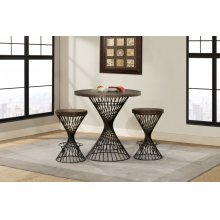 Kanister Counter Height 3 Piece Dining Set