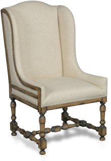 Davalle Chateau Linen Arm Dining Chair