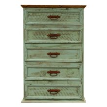 Turquoise Wash Chest