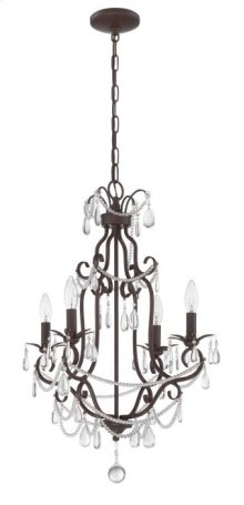 Mini Chandelier - 1054C-AG